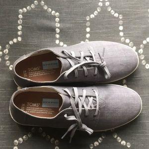 f88412b7843 Toms Shoes - Men s Toms Grey Denim Payton Sneakers—size 10.5